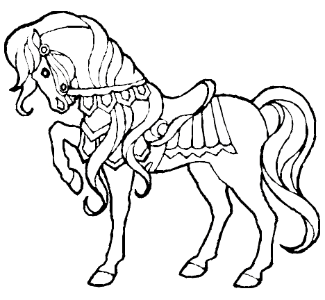 Horse Coloring Pages Color Book