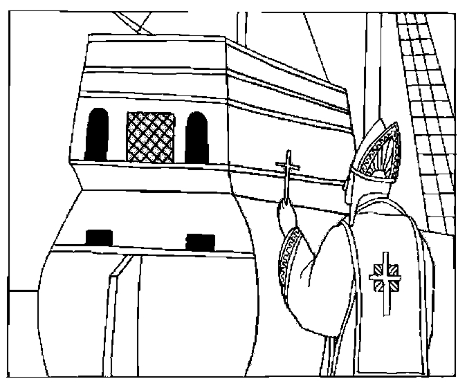 Blessing Of The Voyage Coloring Page