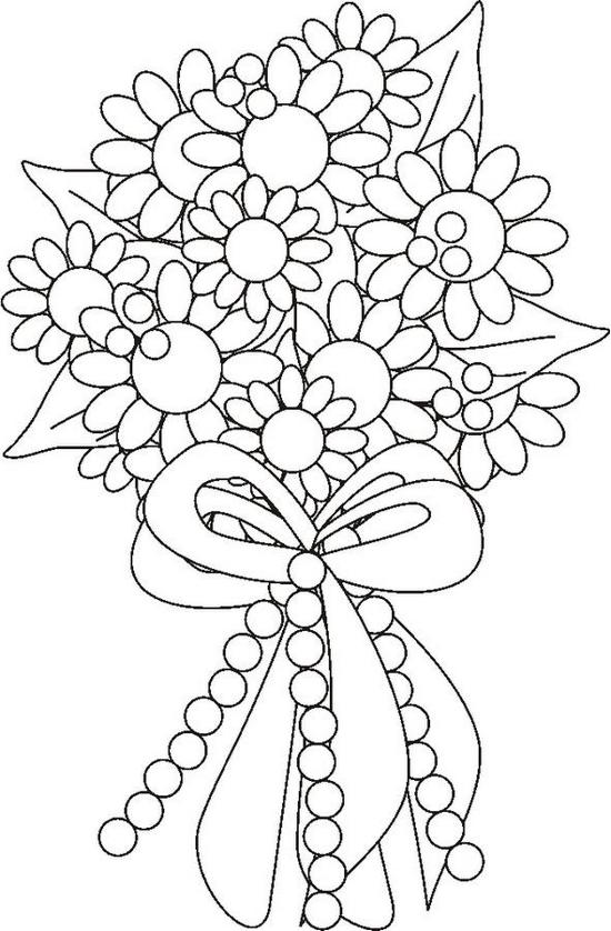 q and u wedding coloring pages - photo #17