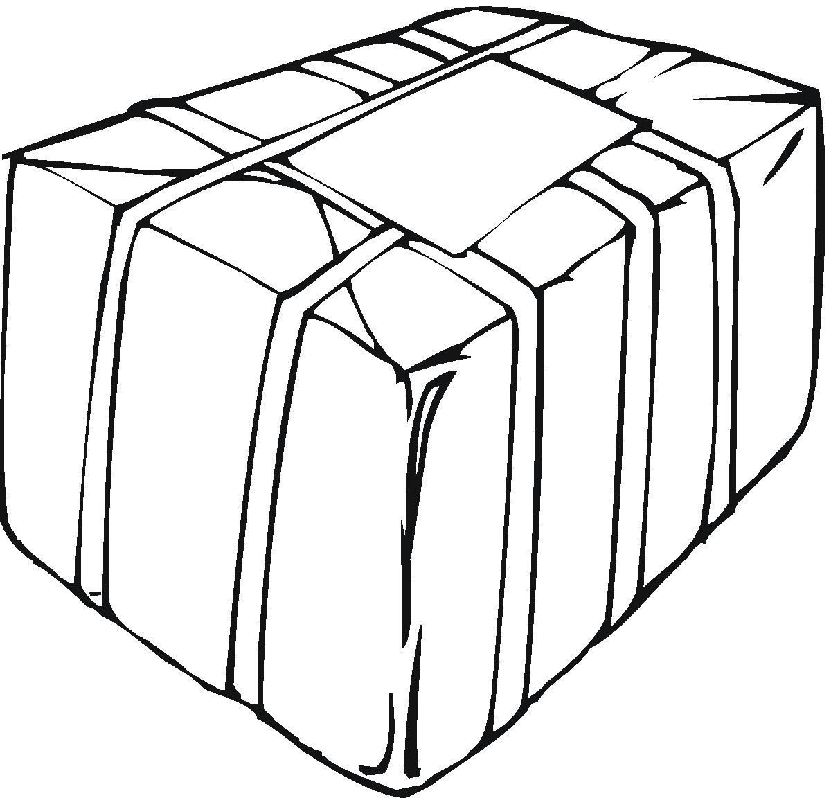 box coloring pages - photo#33