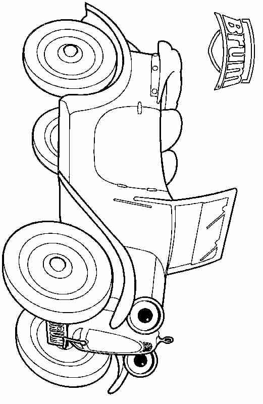 Brum Coloring Page