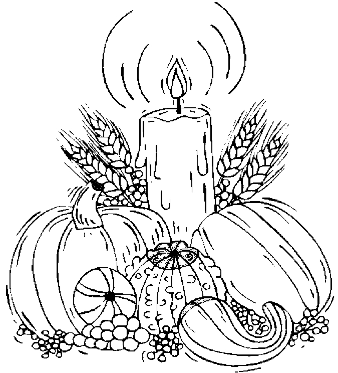 Harvest Coloring Sheets