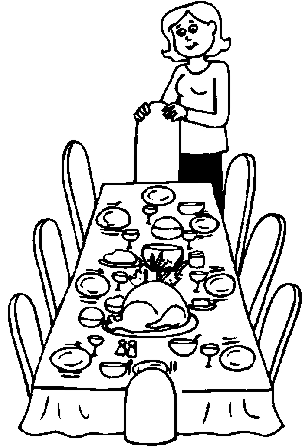 table top coloring pages - photo #47