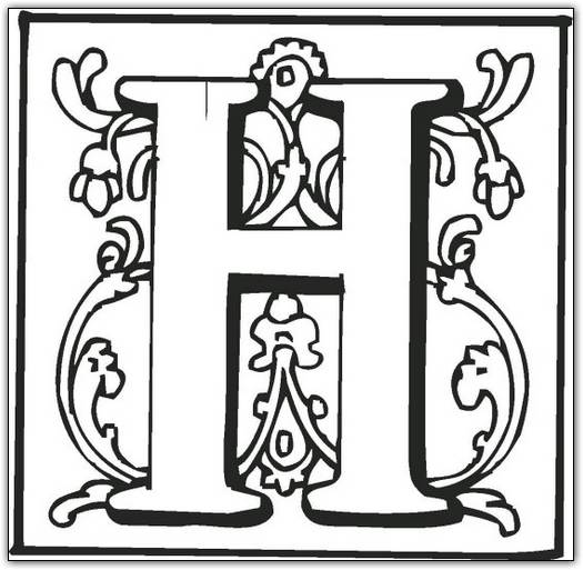 old english alphabet coloring pages - photo#15