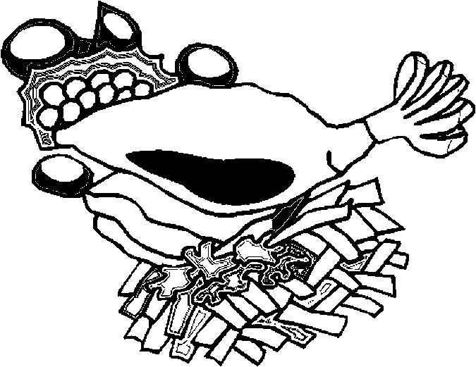 Lamb Dinner Coloring Page