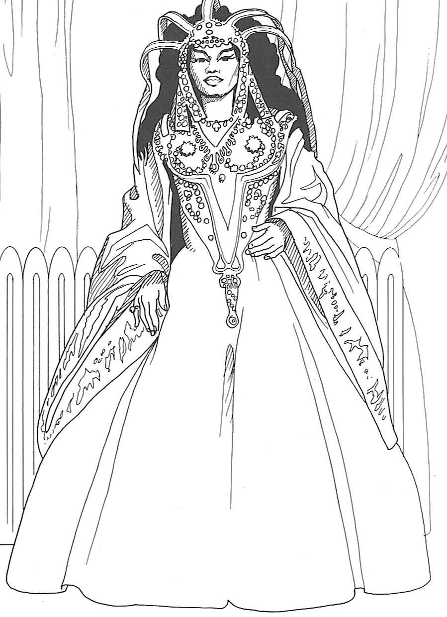 black american coloring pages - photo#1