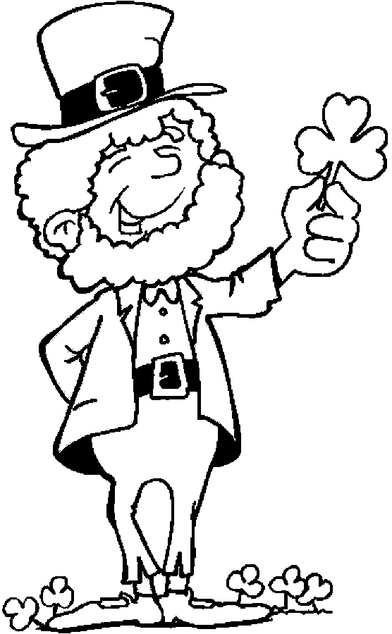 irish people coloring pages - photo#16