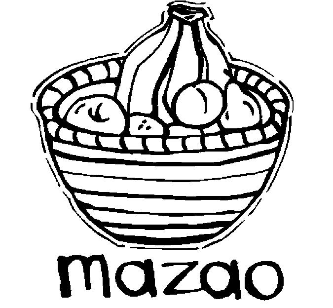 Mazao Coloring Page