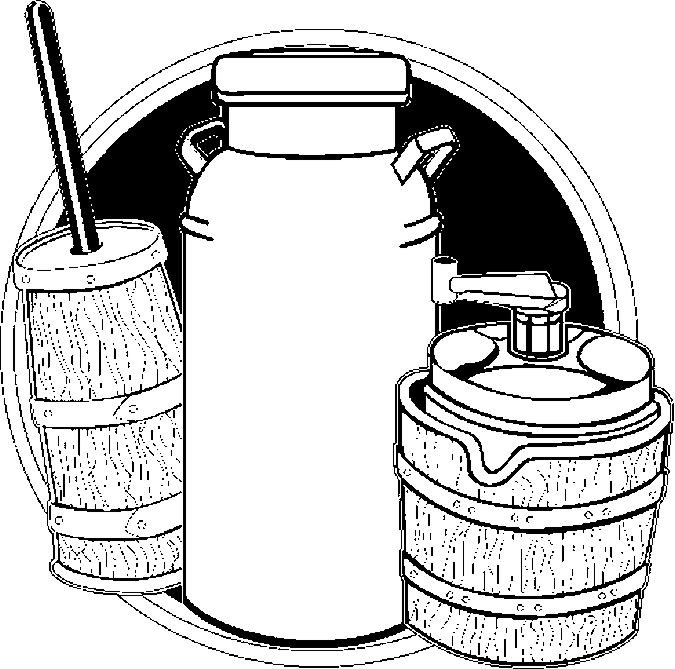Milk Can Collage Coloring Page Color Book Can Coloring Page