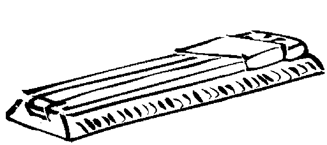Slide Rule Coloring Page