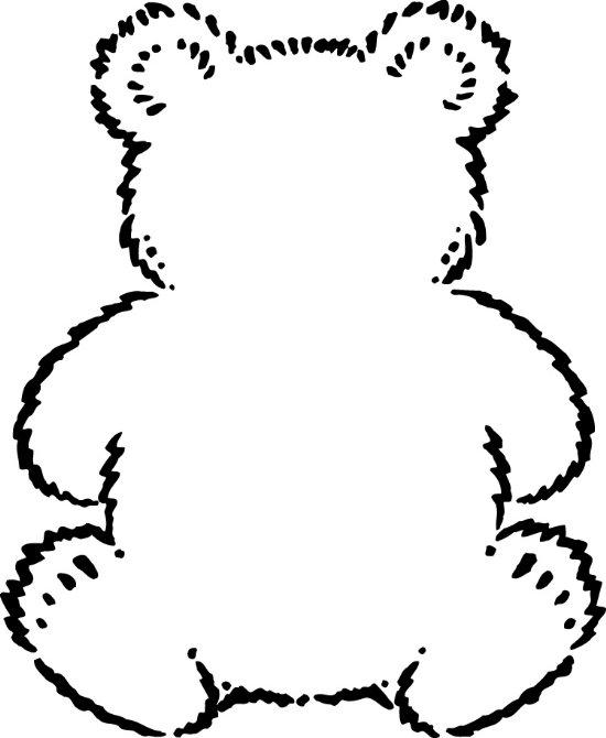 Teddybear Coloring Page