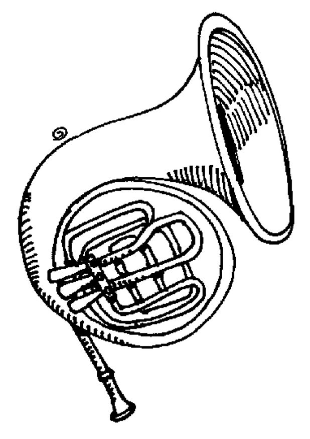 tuba coloring pages - photo#15