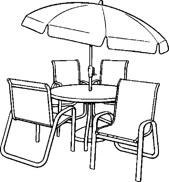 Furniture Coloring Pages - Color Book