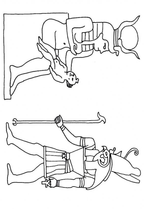 Egypt Coloring Page
