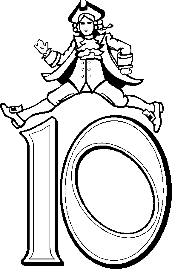 Lords coloring page for 12 days of christmas coloring page