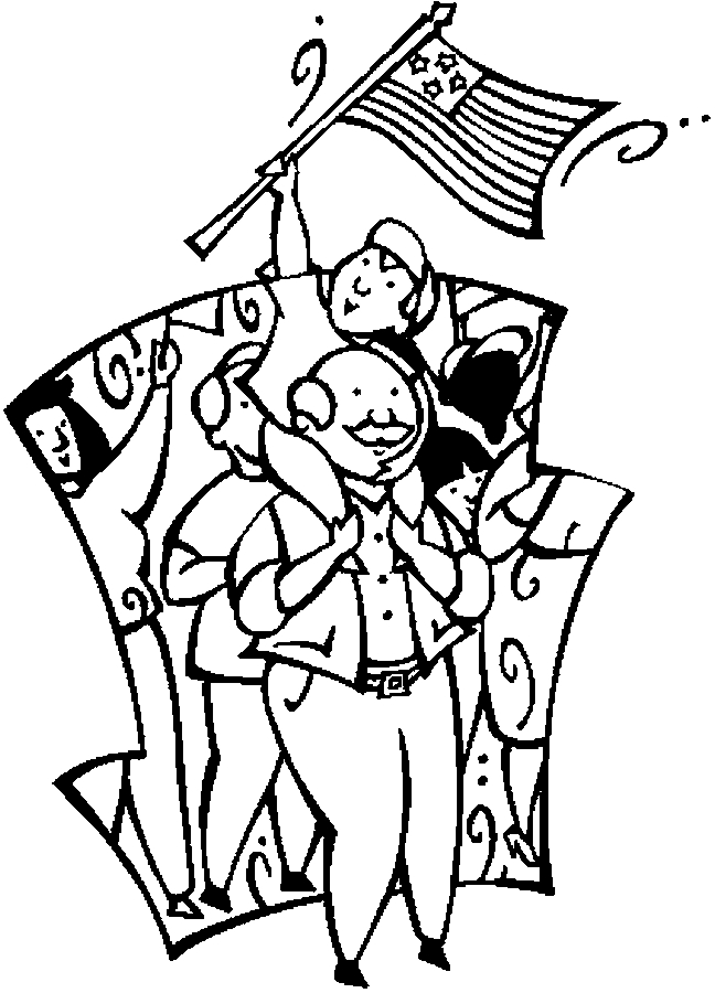 parade coloring pages - photo#17