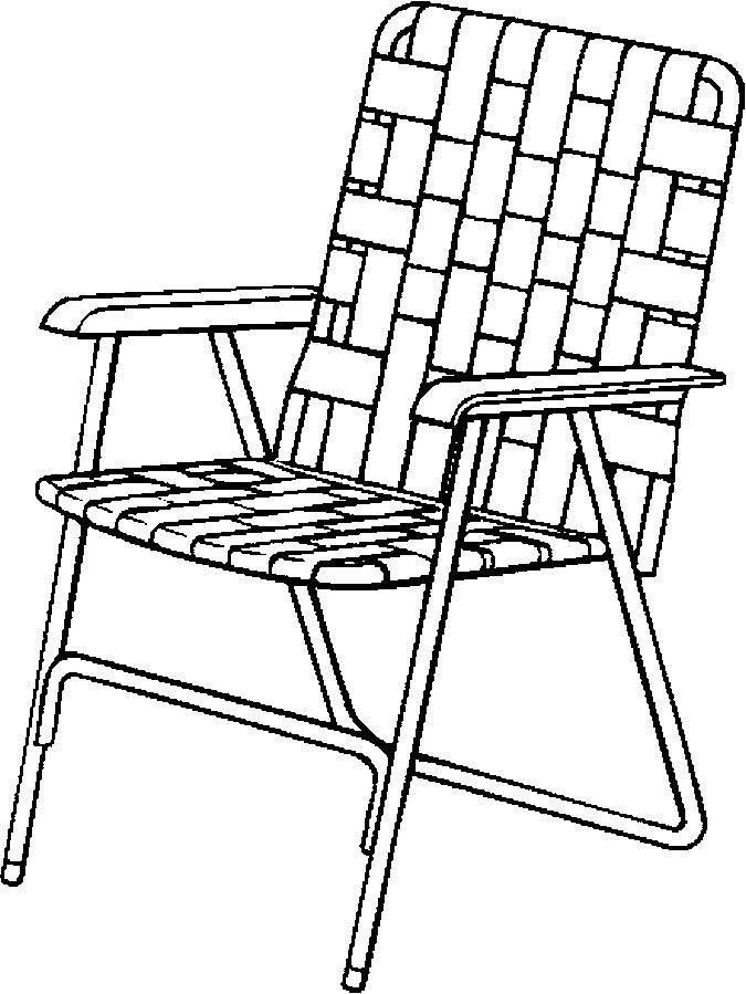 Line Drawing Chair : Throne chair coloring page sketch